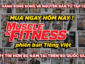 Tap chi Muscle and Fitness tieng viet