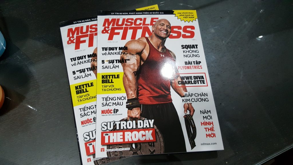 tap chi muscle fitness viet nam tap 1