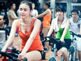 phòng gym ngày càng thu hút chị em phụ nữ