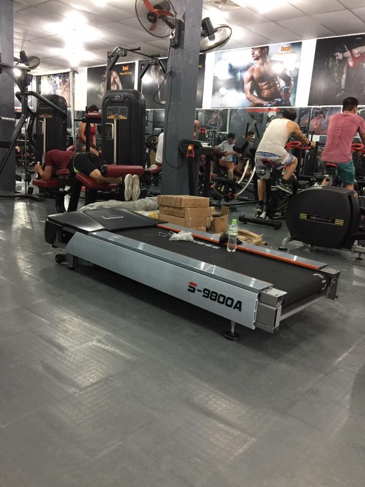 Nâng cấp bổ sung máy tập cho phòng gym bình dân