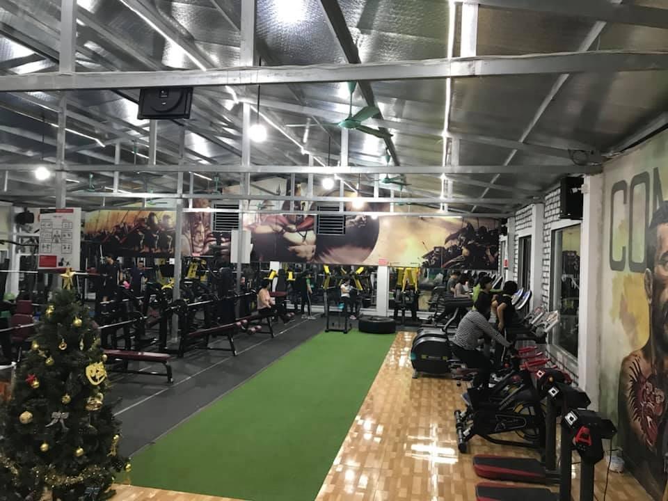 mở phòng tập gym bình dân ở quê