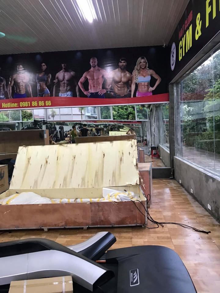 Setup mở phòng tập gym giá rẻ