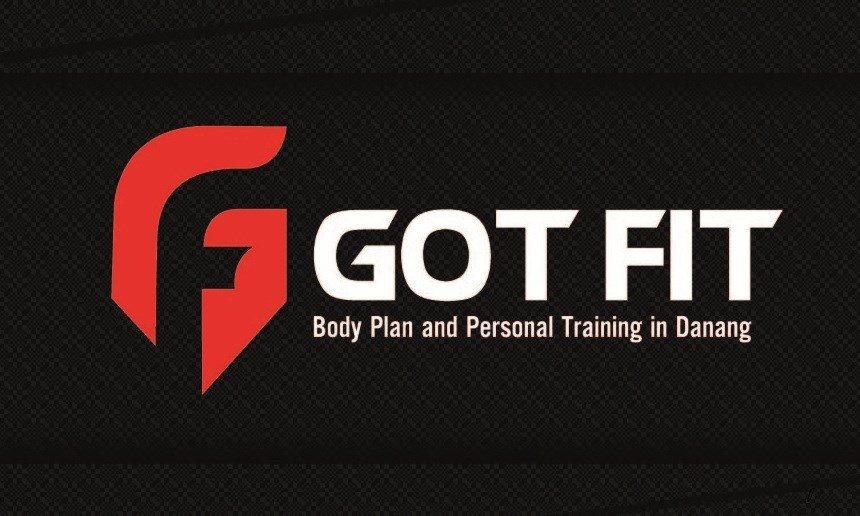Logo phòng tập gym Got Fit Đà Nẵng