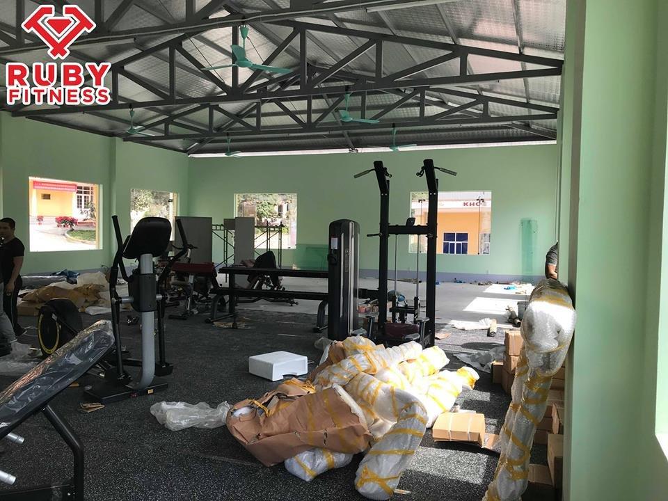 lắp đặt phòng tập gym cho đơn vị bộ đội