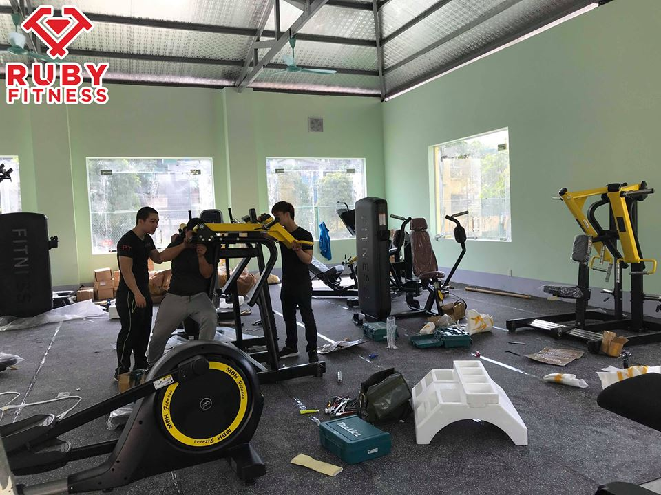 setup lắp đặt phòng tập gym chuyên nghiệp