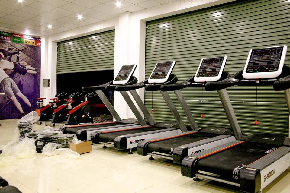 Dàn cardio máy chạy bộ xe đạp tập thể lực hãng MBH