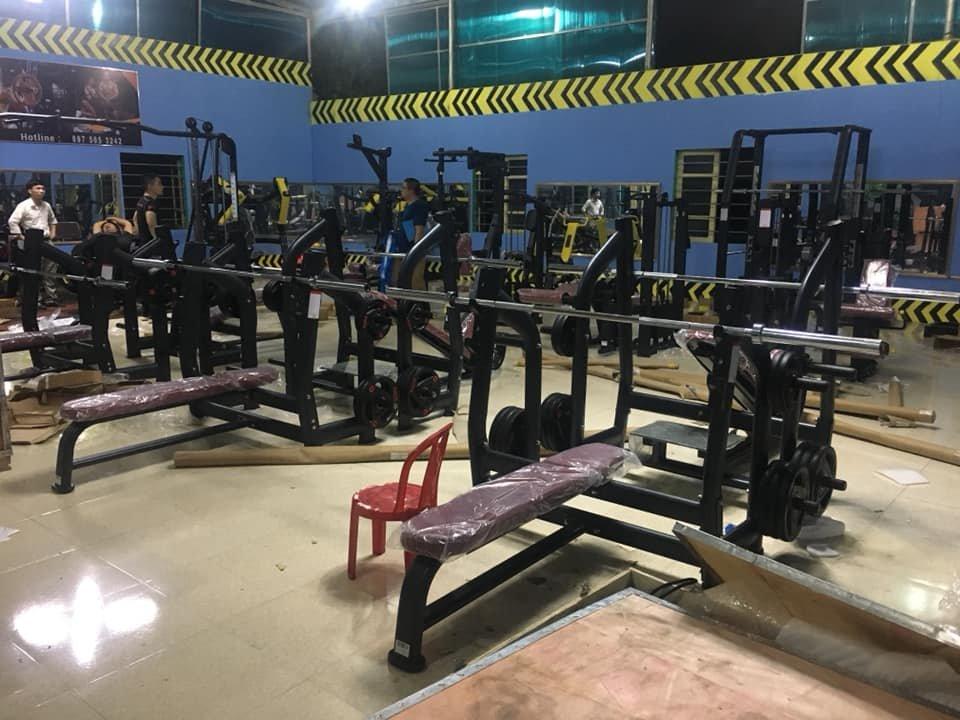 Quá trình setup mở phòng tập gym bình dân tại nghệ an