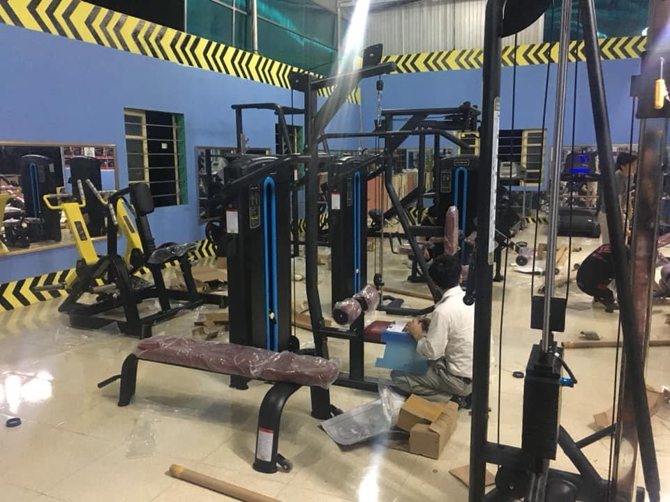 lắp đặt máy tập gym mbh dòng m-05