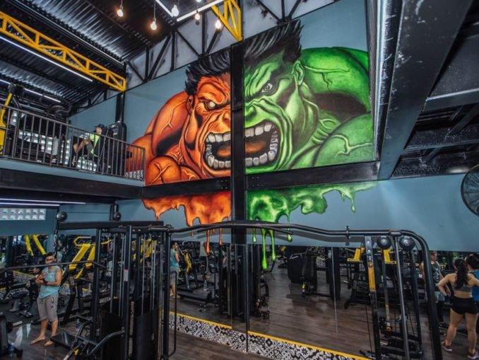 setup thiết kế phòng gym đẹp
