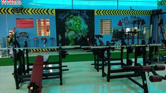Setup mở phòng tập gym giá rẻ tại nghệ an