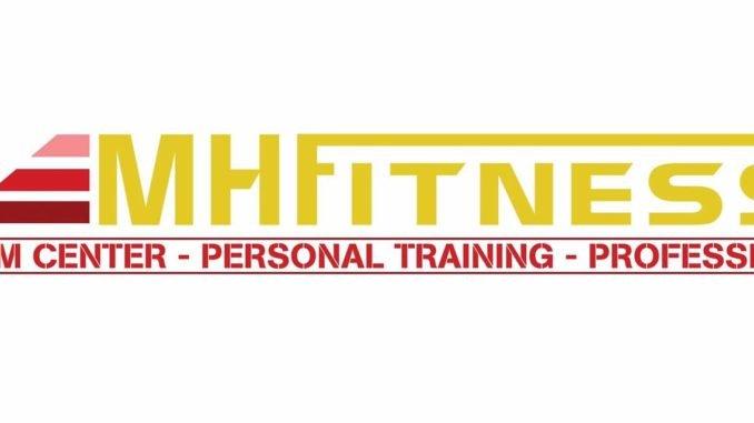 Logo phòng tập MH Fitness