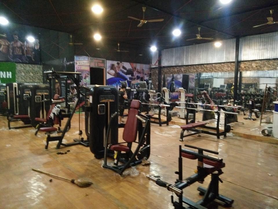 Setup mở phòng tập fitness ở nông thôn gym kết hợp yoga bình dân