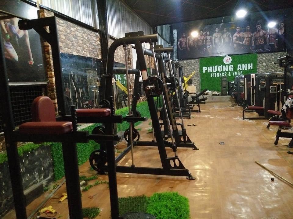 Setup mở phòng fitness bình dân