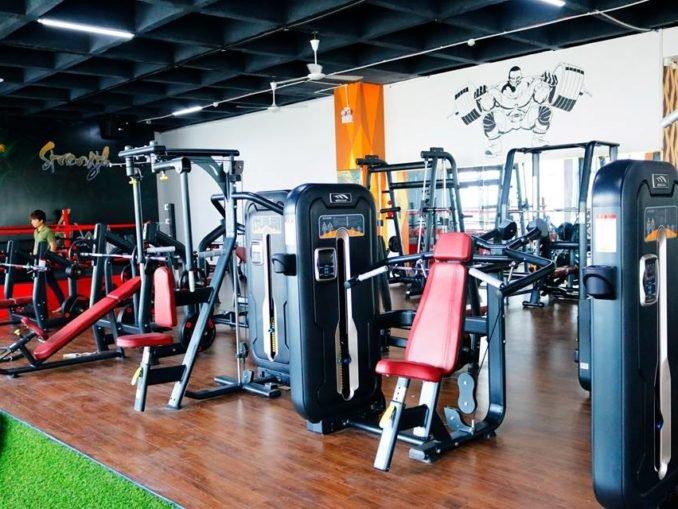 Setup mở phòng tập gym tầm trung cấp ở thành phố Hải Dương
