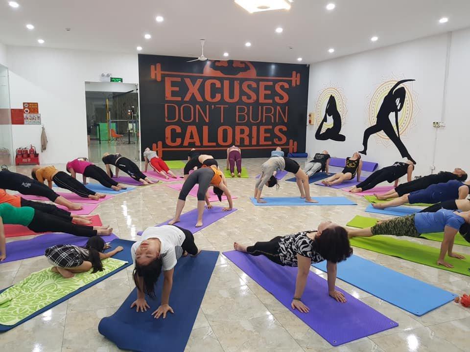 phòng tập yoga tại tỉnh hải dương