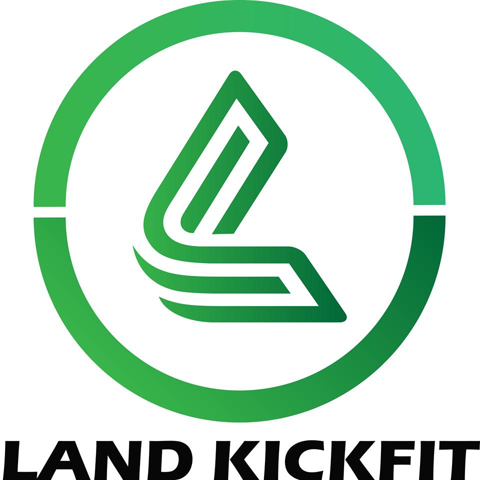 logo phòng tập land kickfit