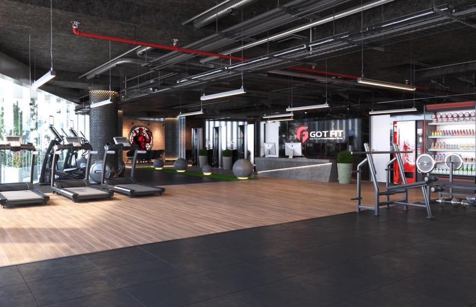 thiết kế 3D mẫu setup phòng tập gym