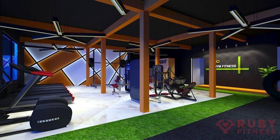 Thiết kế hình ảnh 3D cho phòng tập gym