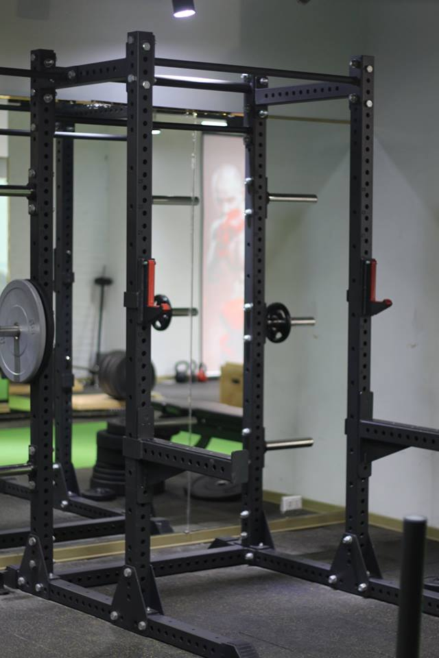 khung rack tập power lifting