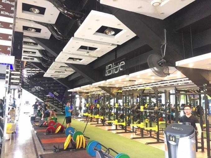 nâng cấp trang thiết bị cho phòng tập gym