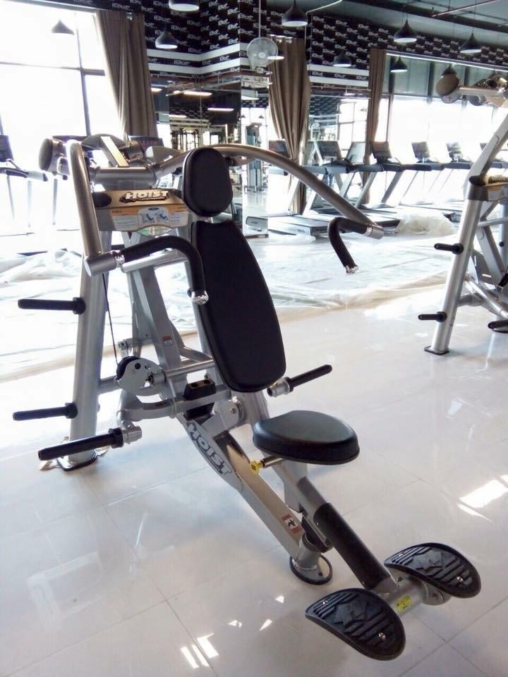 máy đẩy ngực tạ rời hãng hoist fitness