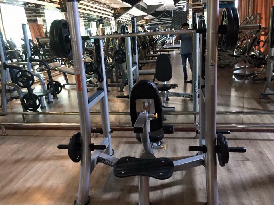 ghế tập đẩy vai hoist fitness