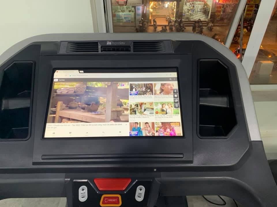 máy chạy PT500 màn hình cảm ứng