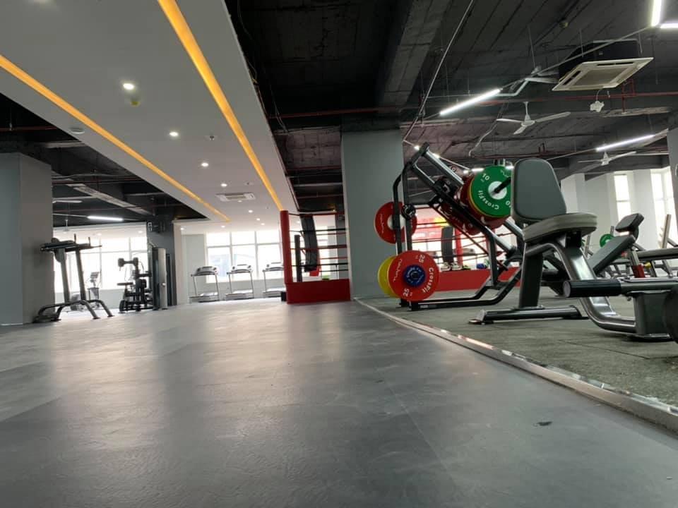 thiết kế phòng tập gym