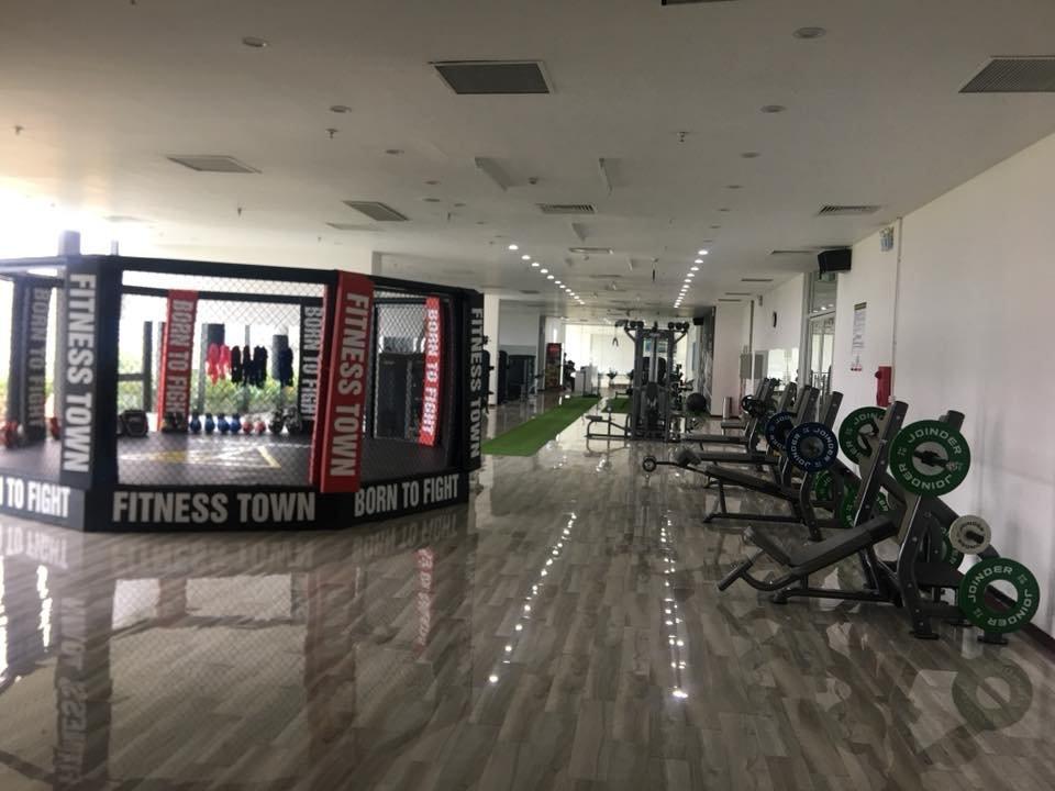 lắp đặt lồng lục giác MMA kickfit boxing cho phòng tập gym