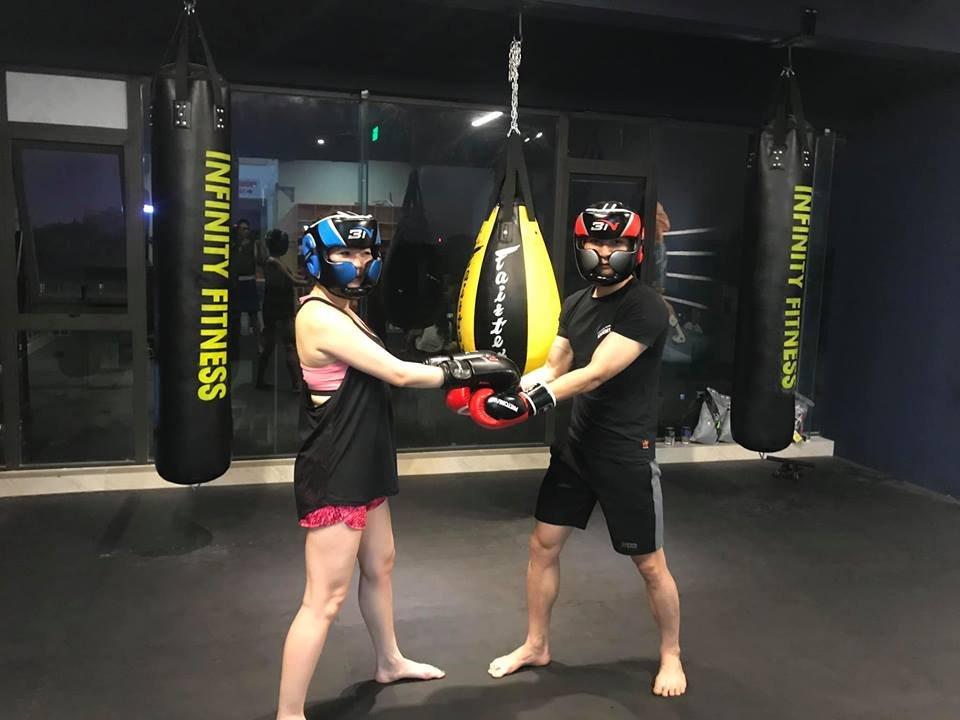 xả stress với bao boxing
