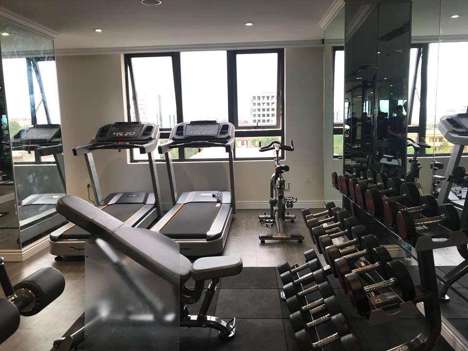 lắp đặt setup phòng gym khách sạn