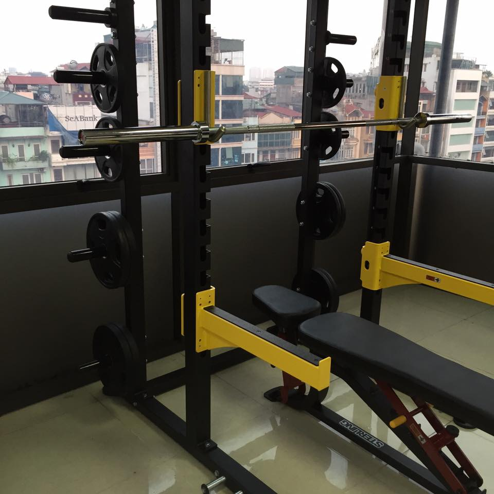 setup phòng tập gym mini cho dân văn phòng công sở