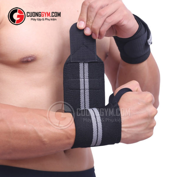 Dây cuốn cổ tay CGA-110 được làm từ vật liệu có khả năng co giãn tốt, bền chắc