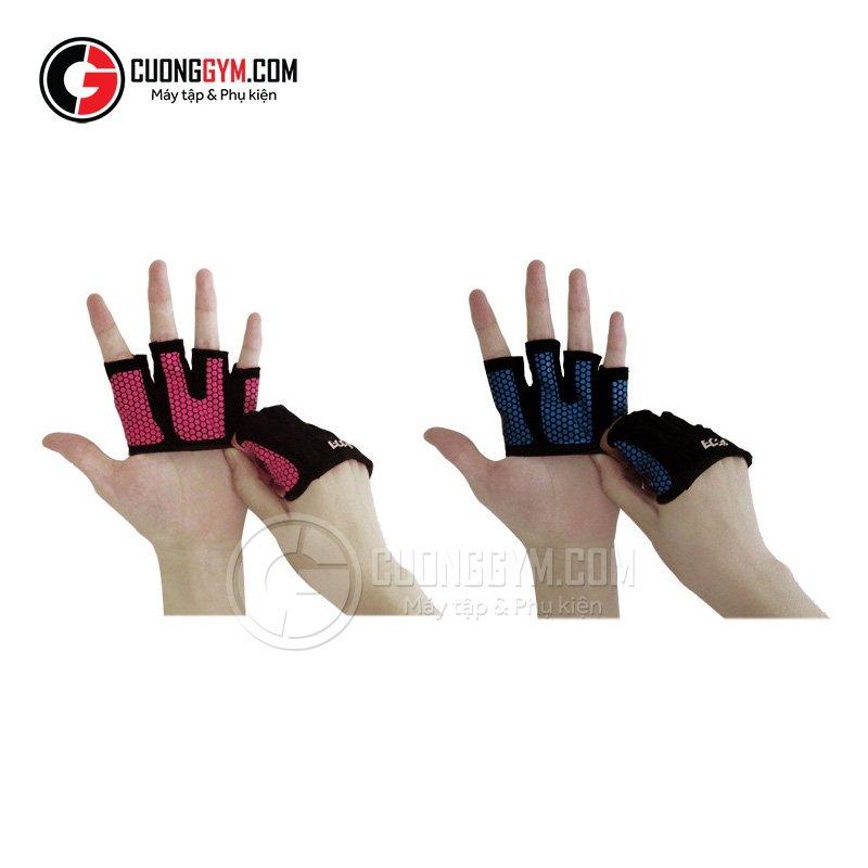 Găng tay CGB-104 có 2 tùy chọn là màu xanh lam và hồng