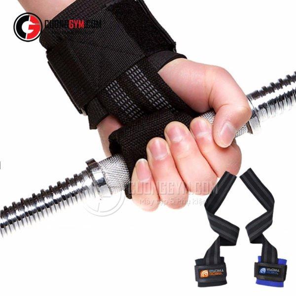 Lifting straps giúp bạn cầm nắm dụng cụ tập chắc chắn hơn
