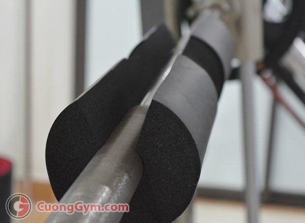 Hình ảnh thực tế sản phẩm: Xốp lót thanh đòn gánh tạ Barpad CGK-307